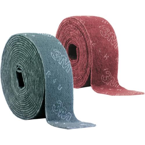 3M 03760 Scotch-Brite fleece roll CF-RL, ultra-fine red, 100mm x 10m, 1 piece