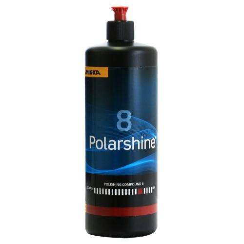 MIRKA Polarshine Politur 8 , Mittelfeine Politur, 1 Liter