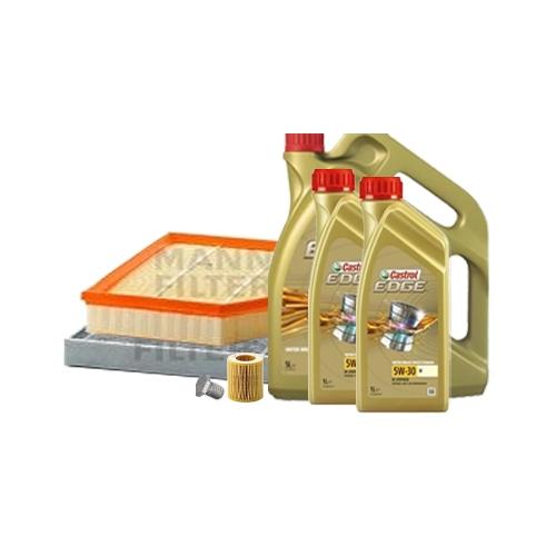 Inspektionskit Ölfilter, Luftfilter + Ablasschraube und Motoröl 5W-30 M 7L