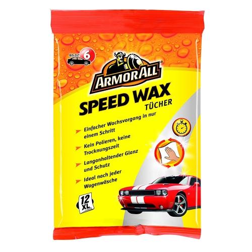 Armor All Speed Way Tücher, Wax und Schutz ohne Polieren 12 Stück GAA44012GE