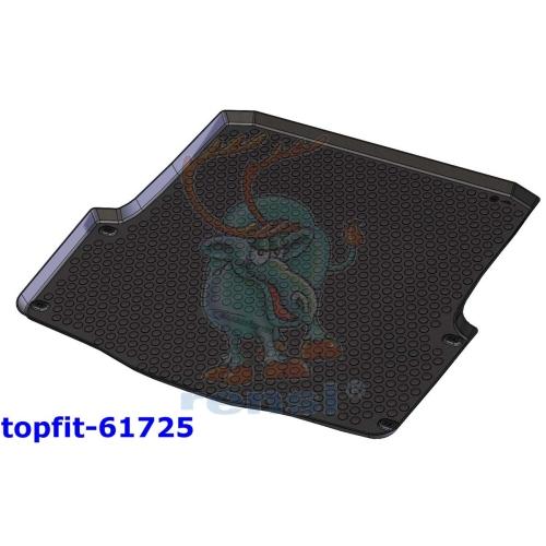 RENSI 61725 Kofferraumschalenmatte Gewicht 1400 g