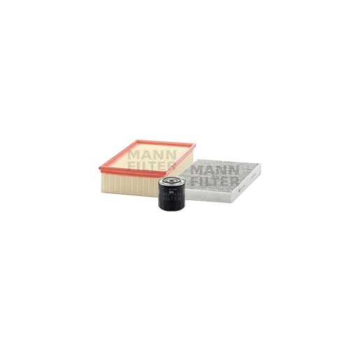 MANN-FILTER Filter Satz, Öl-,Luft und Innenraum Aktivkohle-Filter VSF0119MAN