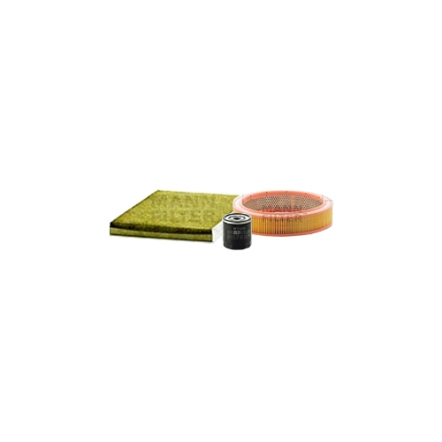 MANN-FILTER oil filter, air filter and polyphenol cabin air filter VSF0385MAN