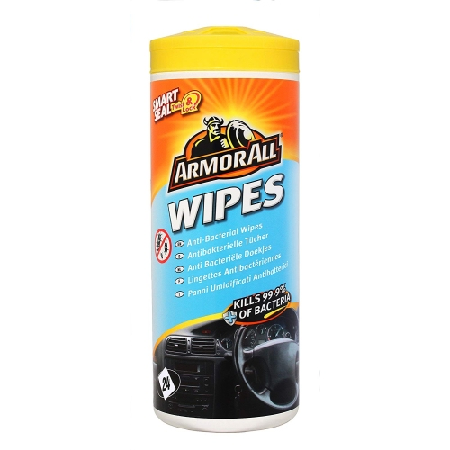 Armor All Antique bacterial wipes 24 pieces GAA78024ML5A