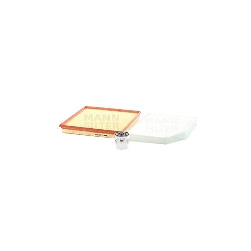 MANN-FILTER Filter Satz Ölfilter, Luftfilter und Innenraumluftfilter VSF0331MAN