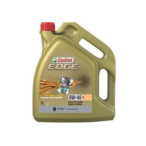 CASTROL EDGE Motoröl 0W-40 R 5 Liter 15D33C