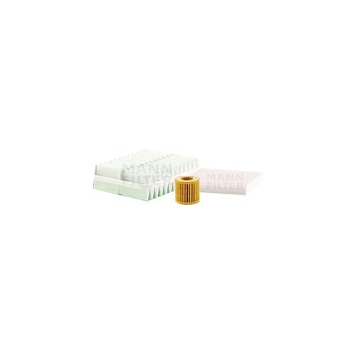 MANN-FILTER Filter Satz, Öl-,Luft und Innenraum-Filter VSF0187MAN