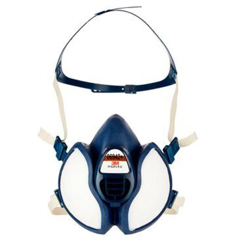 3M 06942+ half mask, disposable painting mask FF A2 P3 RD