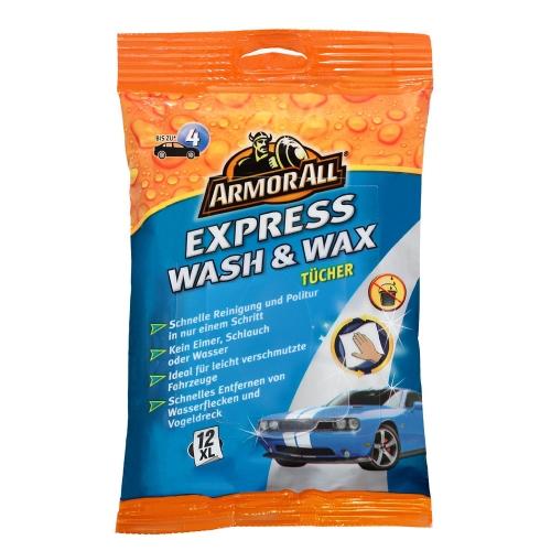 Armor All Wash & Wax Tücher 12 Stück GAA24012GE