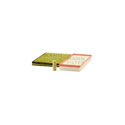 MANN-FILTER Ölfilter, Luftfilter und Polyphenol Innenraumluftfilter VSF0329MAN