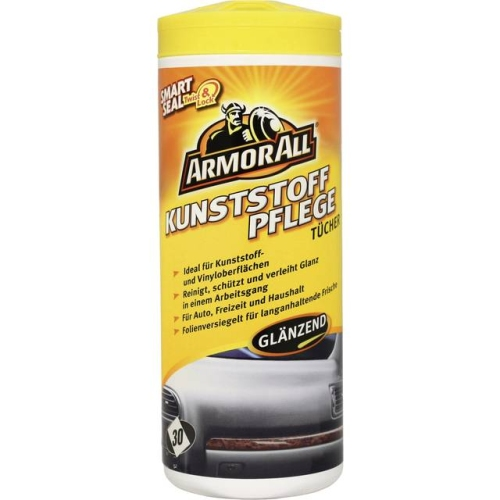 Armor All Plastic care wipes glossy 30 St. 36025L