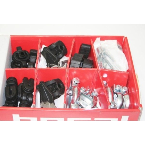 BOSAL 253-749 Montagepaket Abgasanlagen für CITROEN, PEUGEOT, RENAULT