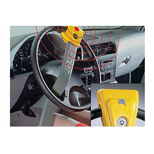 Kamei - 03617005 Steering wheel immobilizer claw Stoplock II with LED