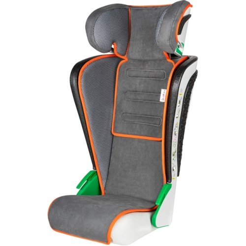 WALSER 15601 child seat Noemi, anthracite / orange