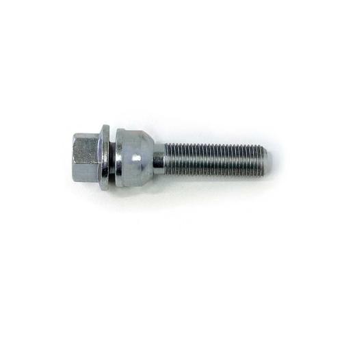 H&R Radschraube 1453507A, M14x1,5x35, SW 17, bewegl. Kugelbund R14, silber