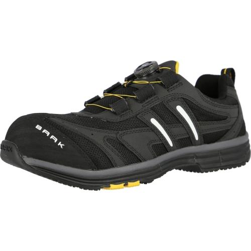 Baak 5082 safety shoe S1 Captain John black / gray Gr. 39