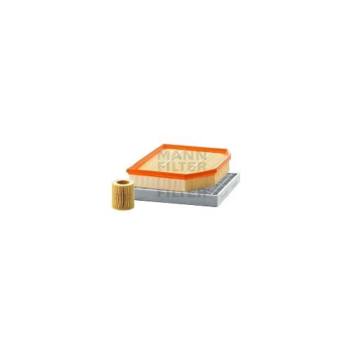 MANN-FILTER Filter Satz, Öl-,Luft und Innenraum Aktivkohle-Filter VSF0144MAN