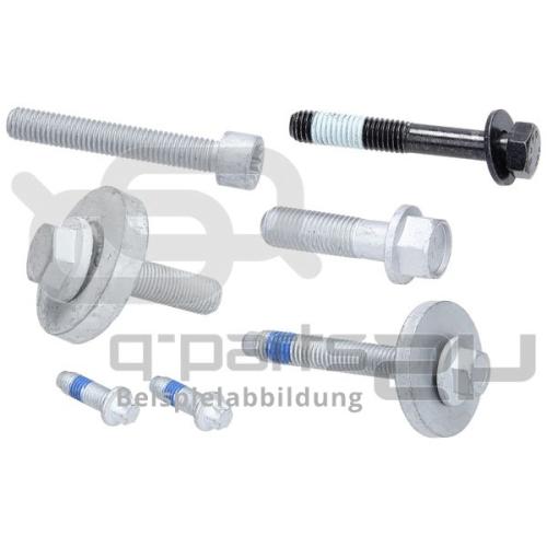 H&R Radschraube B14255003, M14x1,25x50, SW 17, Kugelbund R13, schwarz
