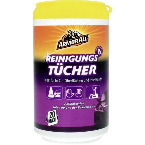 Armor All Clean-Up Wipes Reinigungstücher 20 St. 87020L