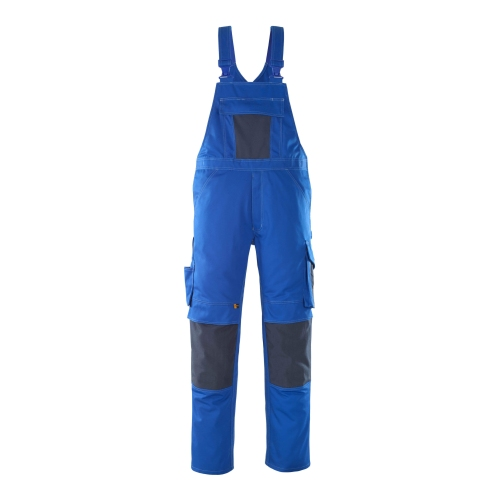 Mascot Dungarees with knee pockets 12069-203-11010 82C50 royal blue / black blue