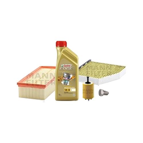 Inspektionskit Ölfilter, Luftfilter und Innenraumfilter + Motoröl 5l 5W-30 LL