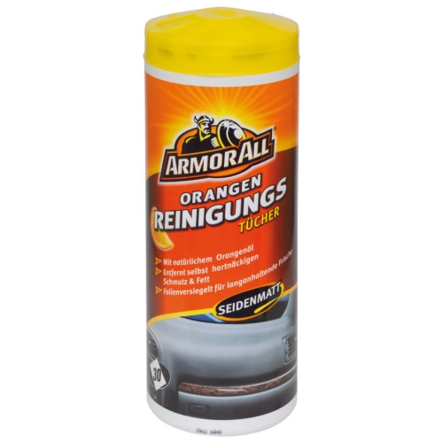 Armor All Cleaning cloths with orange oil 30th 45025L pcs