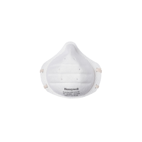 HONEYWELL filtering half mask SuperOne 3205 of protection class FFP2D 1013205
