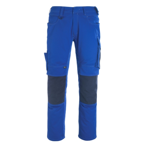 Mascot pants with knee pockets 12179-203-11010 82C48 royal blue / black blue