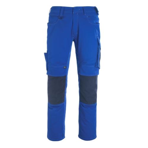 Mascot Hose mit Knietaschen 12179-203-11010 82C52 kornblau/schwarzblau