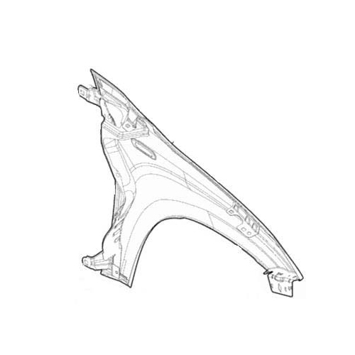 RICAMBI 51931802 Kotflügel links mit Loch für Blinkleuchte
