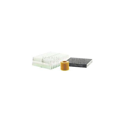 MANN-FILTER Filter Satz, Öl-,Luft und Innenraum Aktivkohle-Filter VSF0188MAN