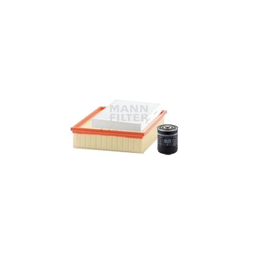 MANN-FILTER Filter Satz, Öl-,Luft und Innenraum-Filter VSF0106MAN
