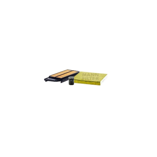 MANN-FILTER Filter Satz, Öl-,Luft und Innenraum Aktivkohle-Filter VSF0276MAN