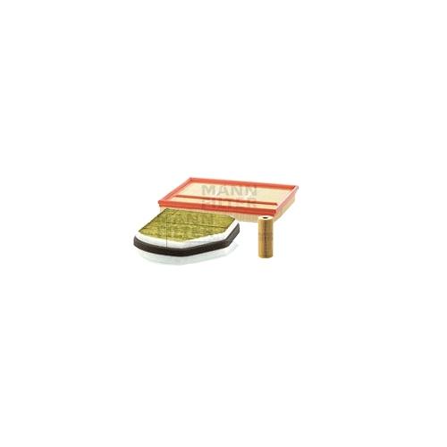 MANN-FILTER Ölfilter, Luftfilter und Polyphenol Innenraumluftfilter VSF0392MAN