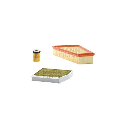 MANN-FILTER Filter Satz, Öl, Luft- und Innenraum-Filter Polyphenol VSF0041MAN