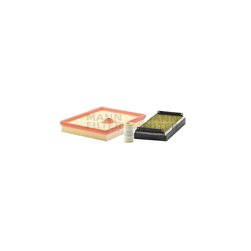 MANN-FILTER Ölfilter, Luftfilter und Polyphenol Innenraumluftfilter VSF0416MAN