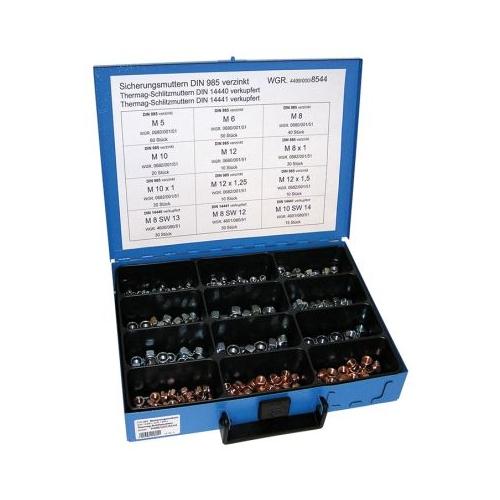 Sortiment Sicherungsmuttern/THERMAG-Muttern 4499/000/06 8544 12-fach 1 Stück