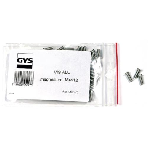 GYS 050273 Alu-Magnesium-Schrauben M 4, 200 Stück