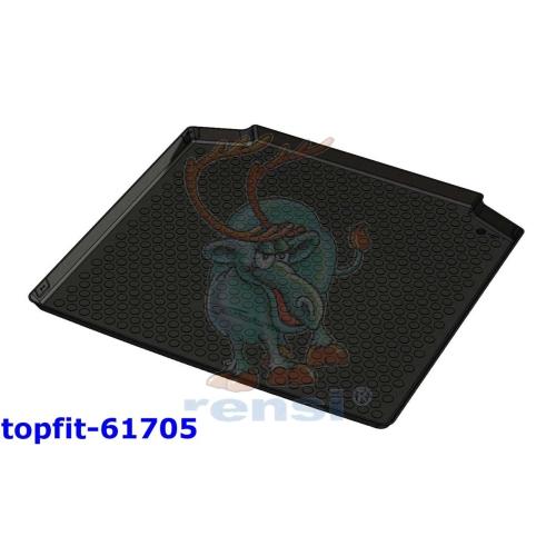 RENSI 61705 Kofferraumschalenmatte Gewicht 1200 g