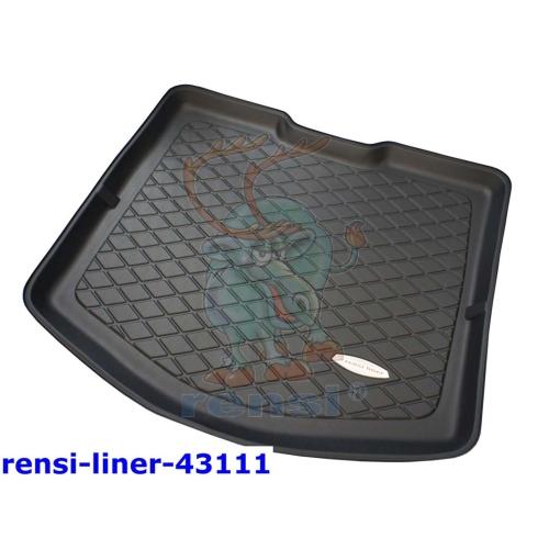 RENSI 43111 Kofferraumschalenmatte mit Reifenrep.-Set tiefer Kofferraumboden