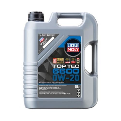 LIQUI MOLY LM TOP TEC 6600 0W-20 5 Liter