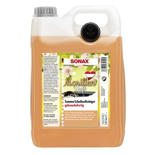SONAX 391500 window cleaner apricot 5 liters 03915000