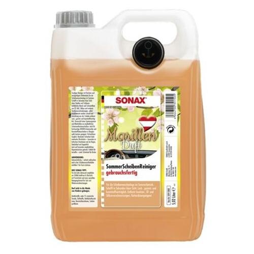 SONAX 391500 Scheibenreiniger Marille 5 Liter 03915000
