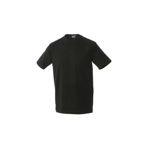 JAMES & NICHOLSON JN002 Men's Comfort T-Shirt, black, size M