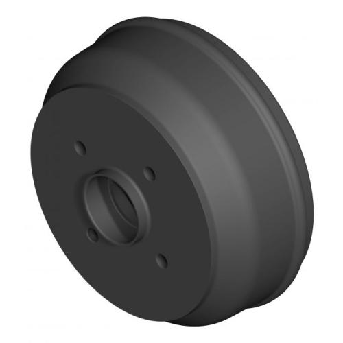 KNOTT Bremsnabe 200, Radanschluss 100x4/M12x1,5 Art.Nr.:21225-1B02