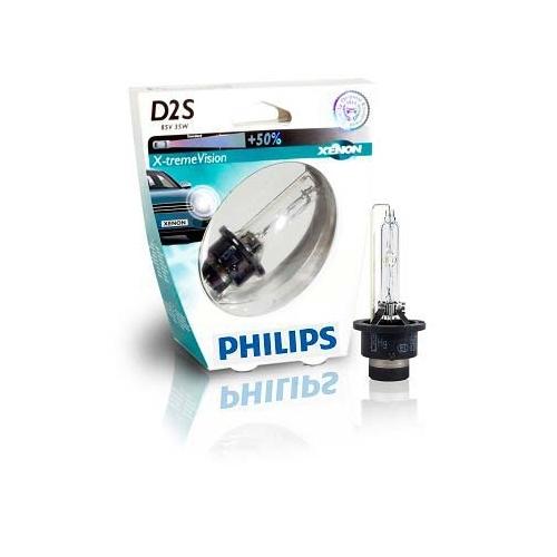 PHILIPS 85122XVS1, Glühlampe, 85V, 35Wm D2S, Sockelausf. P32d-2