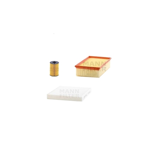MANN-FILTER Filter Satz, Öl, Luft- und Innenraum-Filter VSF0022MAN