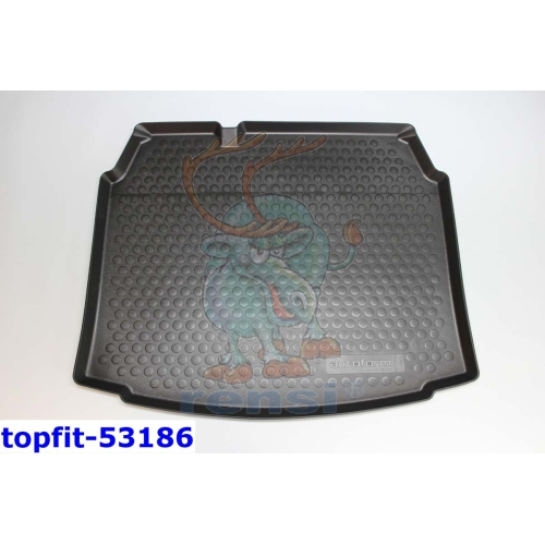 RENSI 53186 Kofferraumschalenmatte Gewicht 1200 g