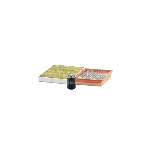 MANN-FILTER Ölfilter, Luftfilter und Polyphenol Innenraumluftfilter VSF0382MAN