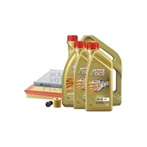 Inspektionskit Ölfilter, Luftfilter und Innenraumfilter + Motoröl 0W-40 7L